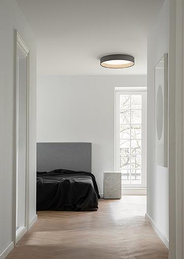 寝室 シーリングライト例