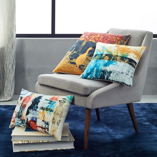 Rauschenberg Pillow Covers | West Elm