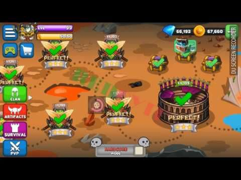 Tiny Gladiators Apk MOD Unlimited Money Gems Souls