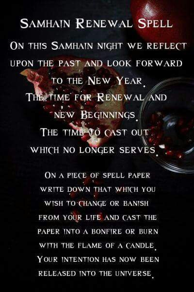 Wiccan New Year S Blessing