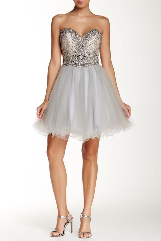 Lace-Up Dress by TERANI COUTURE on @HauteLook