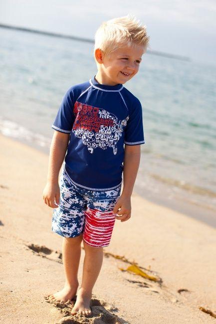 Surfs Up America Trunks   Little Skye Children's Boutique