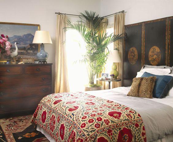Suzani + Interior design by: Schuyler Samperton