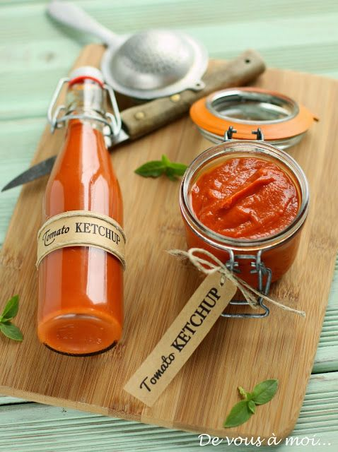 "De vous à moi...: Tomato Ketchup ""Maison"" # Home made"