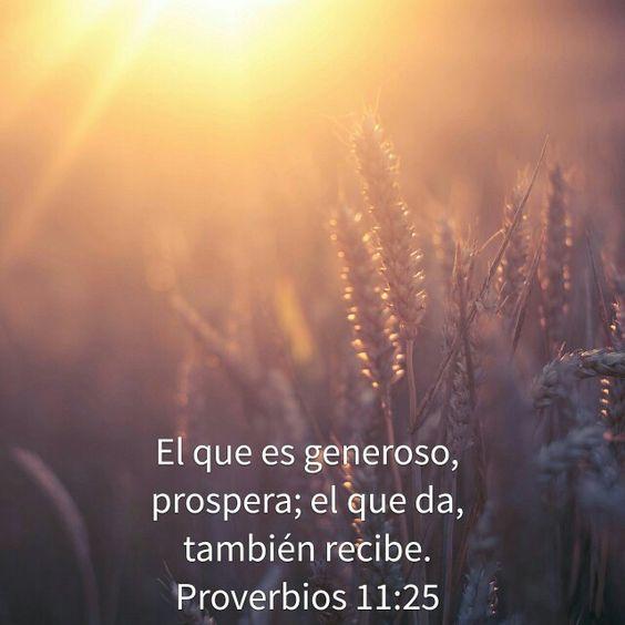 Que hermosa promesa... Dios es siempre fiel para cumplir todo lo que dice!!! La clave para la prosperidad no es sólo ahorrar.... es también dar!!