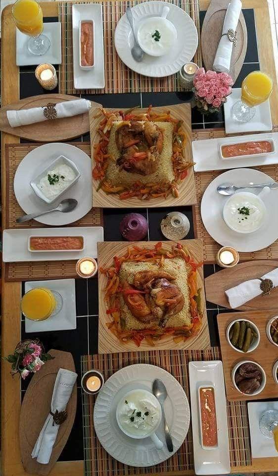 Pin By Sukaina Abdelhadi On Food Presentation Ideas Food Presentation Table Settings Food