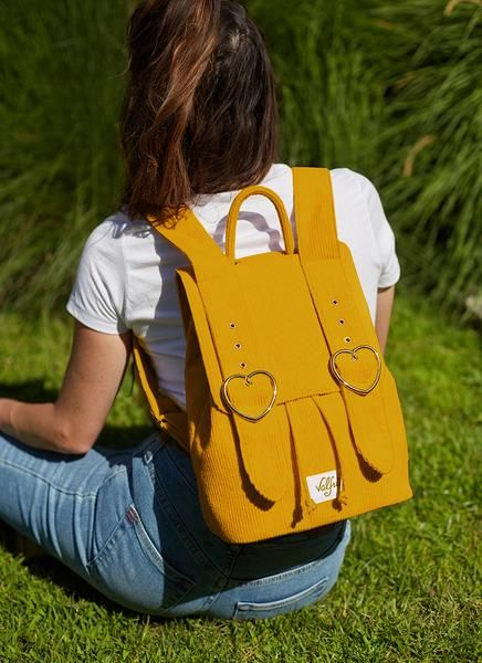 Madeline Backpack (Mustard) By Valfre | Valfré