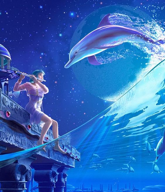 A Synchronicity - Celestial Exploring Artist Kagaya Fairy Myth Mythical Mystical Legend Elf Fairy Fae Wings Fantasy Elves Faries Sprite Nymph Pixie Faeries Enchantment Forest Whimsical Whimsy Mischievous Fantasy Dragon Dragons Sword Sorcery Magic Fairies Mermaids Mermaid Siren Ocean Sea Enchantment Sirens Witch Wizard Surreal Zodiac Astrology *** http://www.kagayastudio.com/ *** kagaya.deviantart.com ***