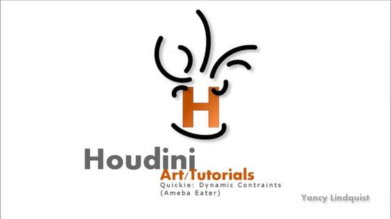 Houdini Quickie: Dynamic Constraints (Ameba Eater)
