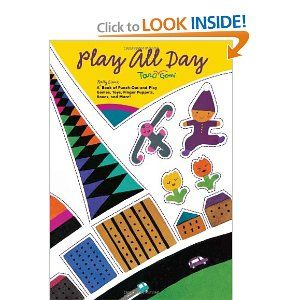 (Already bought it!) Taro Gomi's Play All Day Punch Out Activity Book, $19.99