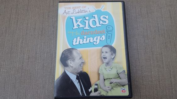 The Best of Art Linkletter's Kids Say the Darndest Things (DVD, 2013