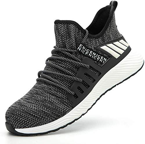 Mens Womens Light weight Work Shoes Breathable Sneakers Sport shoes