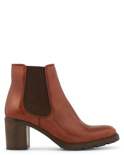 chaussures marron chaussures la en cuir accessoires fleur femme fleur pour marron noir femme minelli cuir veau