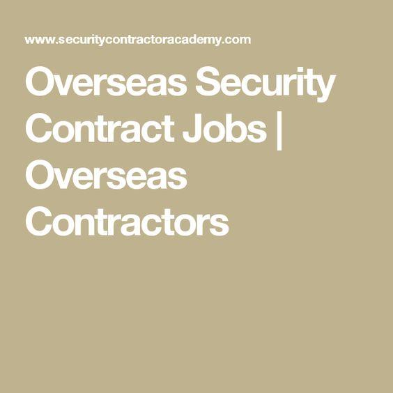 Die besten 25+ Contract jobs Ideen auf Pinterest Studentenjobs - contractor job description