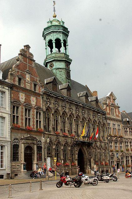 h tel de ville mons belgium belgium pinterest places the o 39 jays and town hall. Black Bedroom Furniture Sets. Home Design Ideas