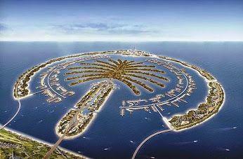 Google+Искусственные острова в Дубае