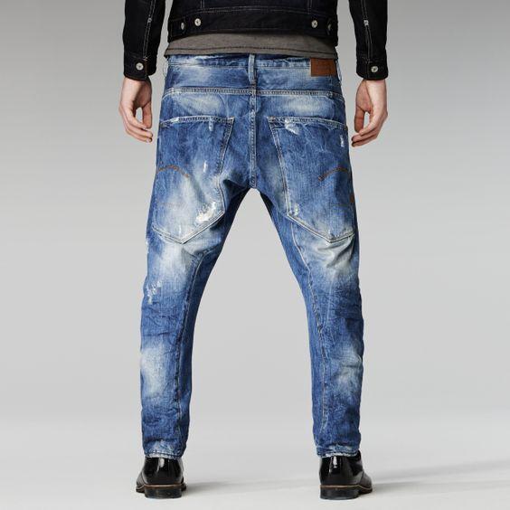 star raw type c 3d loose tapered men jeans d e n i m. Black Bedroom Furniture Sets. Home Design Ideas