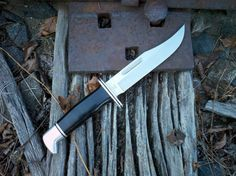 Buck 119 Special Buck Knife (Tobias' favorite knife)