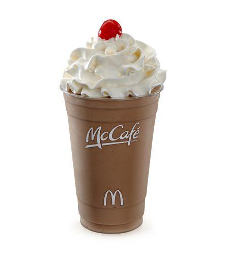 chocolate milk shake | McDonald's Chocolate Shake