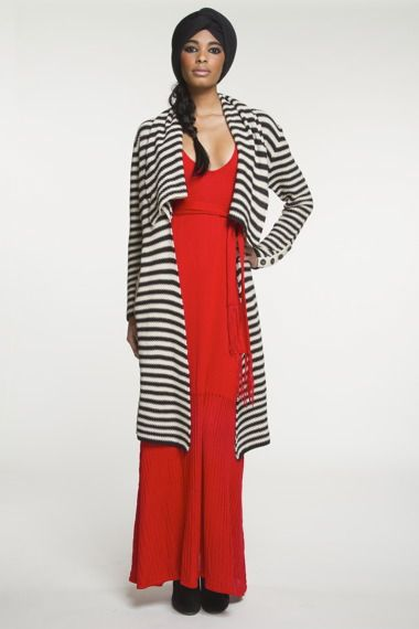 Mara Hoffman: Red and Stripes Classic