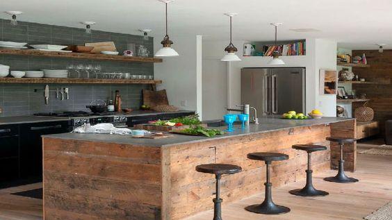 la cuisine industrielle un style d co qui inspire cuisine deco and style. Black Bedroom Furniture Sets. Home Design Ideas