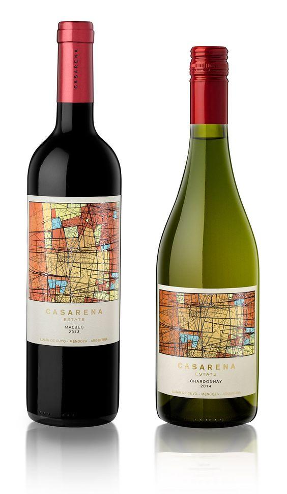 Dise o etiqueta de vino wine label design bodega - Diseno de bodegas ...