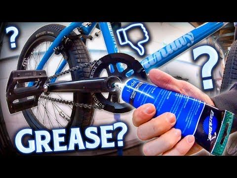 Properly Greasing And Lubing Your Bmx Bike Makes Your Bike Run
