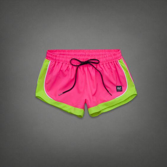Womens A&F Active Short | Abercrombie.com