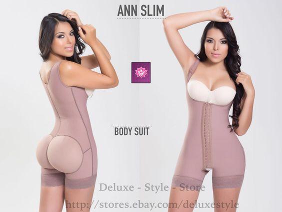 FAJA PARA MUJER DESPUES DE PARTO O DE CIRUGIA ANN SLIM 3KS POWERNET OPEN-BOTT0N  #ANNSLIM3HOOKS #BodySuits