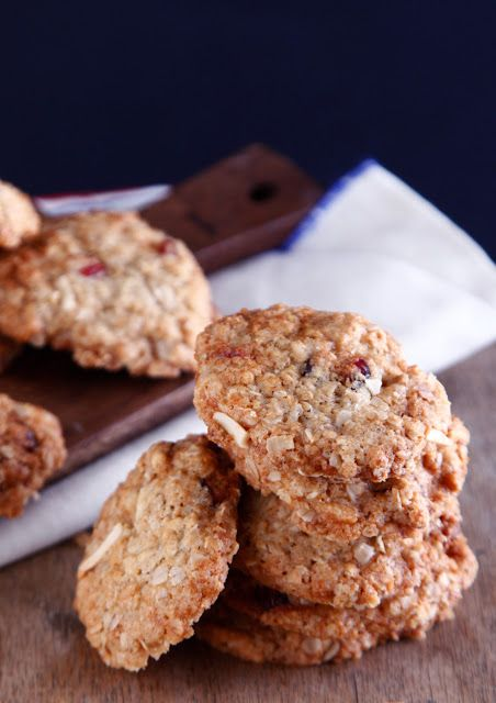 תיק אוכל: עוגיות שיבולת שועל