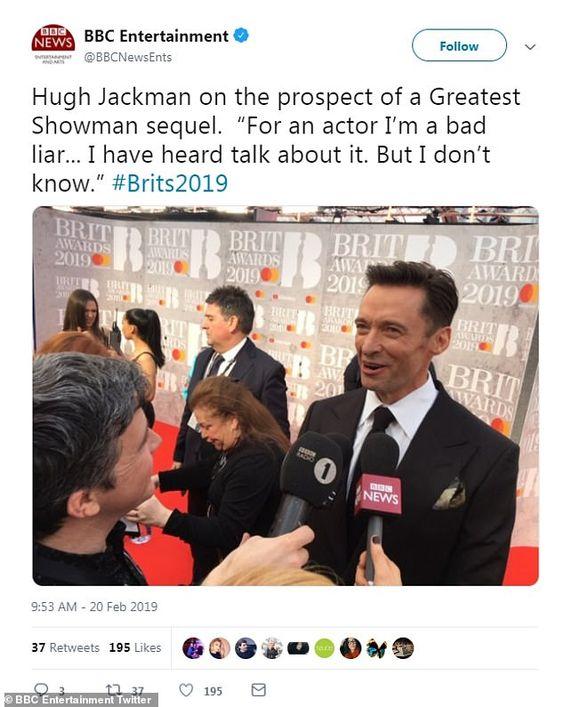 Twitter Hugh Jackman