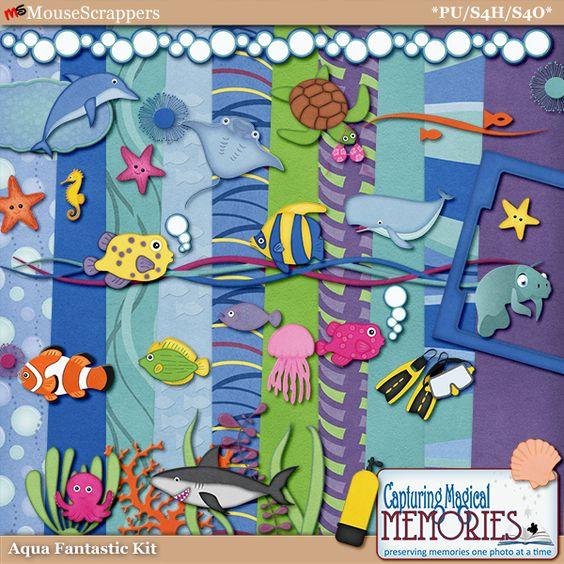 Aqua-Fantasic Kit by Capturing Magical Memories