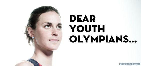 Dear Youth Olympians