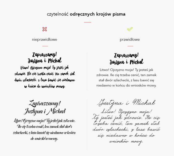 Postanowiliście, że sami wykonacie swoje zaproszenia ślubne? Albo może poszukujesz fontu, który użyjesz na inną okoliczność—urodziny lub chrzciny? Sieć jest pełna różnych zestawieńzpięknymi krojami pisma. Często jednak nie do końca te zestawienia są na tyle praktyczne, żeby być z nich w pełni zadowolonym, kiedy jest się laikiem.Dużo krojównie posiada polskich znaków, aczęść z nich nie …
