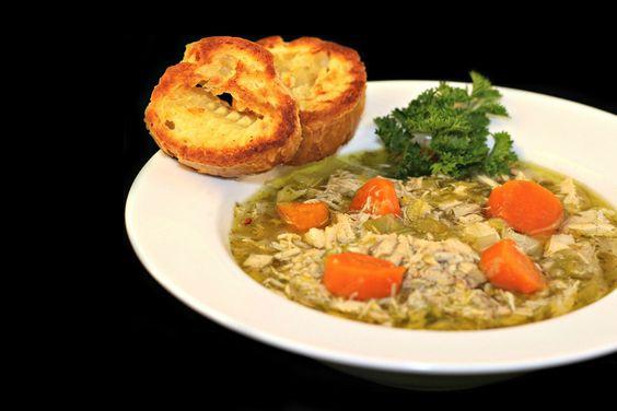 Slow Cooker Chicken Soup #slowcooker #dan330 http://livedan330.com/2015/05/12/slow-cooker-chicken-soup/