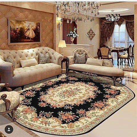 صميم داخلي ديكور ديكورات صالة معيشة صالات مودرن فيلا ديكور داخلي ألوان تفاصيل سعوديه إم Rugs In Living Room Round Rug Living Room Living Room Carpet
