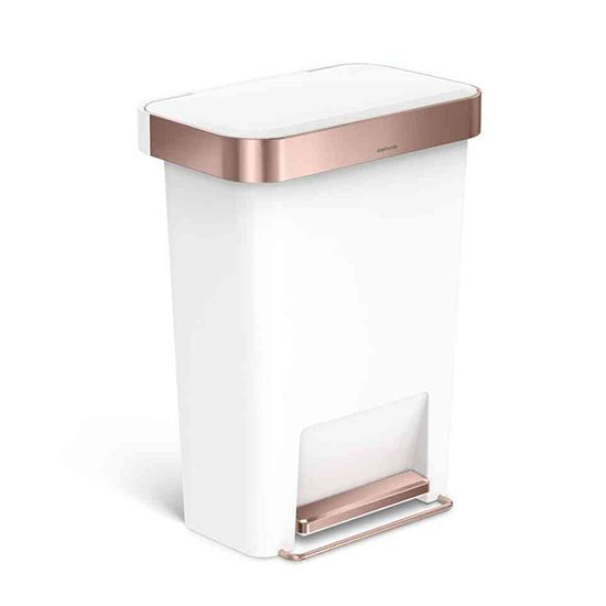 #rosegold Simplehuman Trashcan #new | POSH OFFICE ACCESSORIES | Pinterest |  Rose, Gold And Apartments