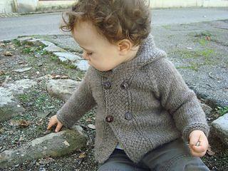 Latte Baby Coat - Ravelry
