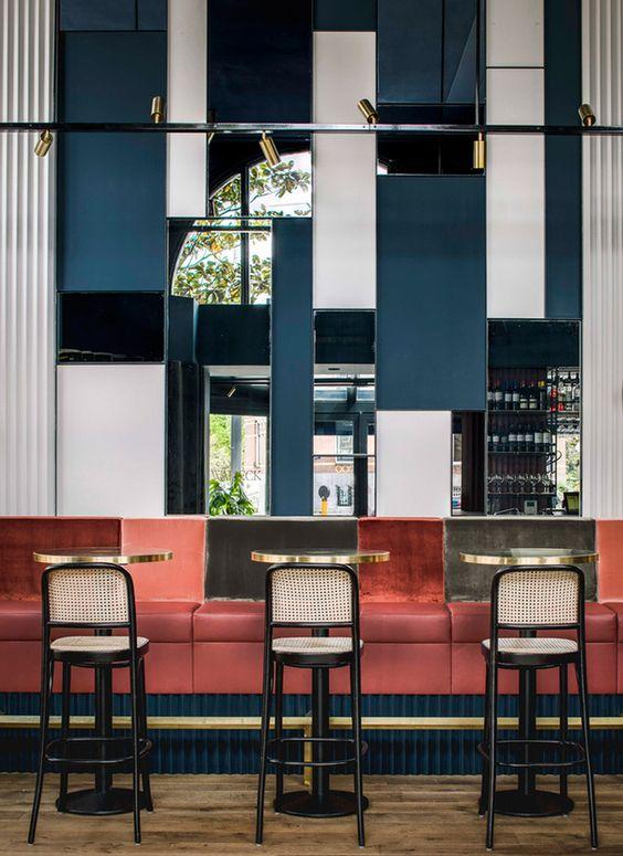 ресторан в стиле конструктивизм