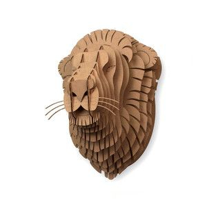 Leon Jr. Lion Trophy Head, $23, now featured on Fab.