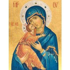 Mother of God of Vladimir, $683.00, catalog of St Elisabeth Convnet…