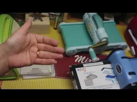 Descrição de Máquina Sizzix, Cuttlebug, Calibur Spellbinders, Accuquilt