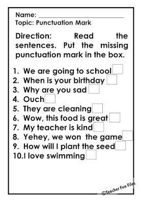 Pin By Raeshelle Hawkins On Jang Punctuation Marks Worksheets Punctuation English Grammar For Kids Quotation marks worksheets second grade