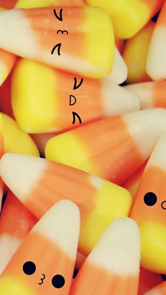 gallery for cute candy corn wallpaper
