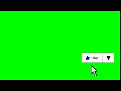 Like Com Efeito Chroma Key Youtube Logotipo Do Youtube Ideias