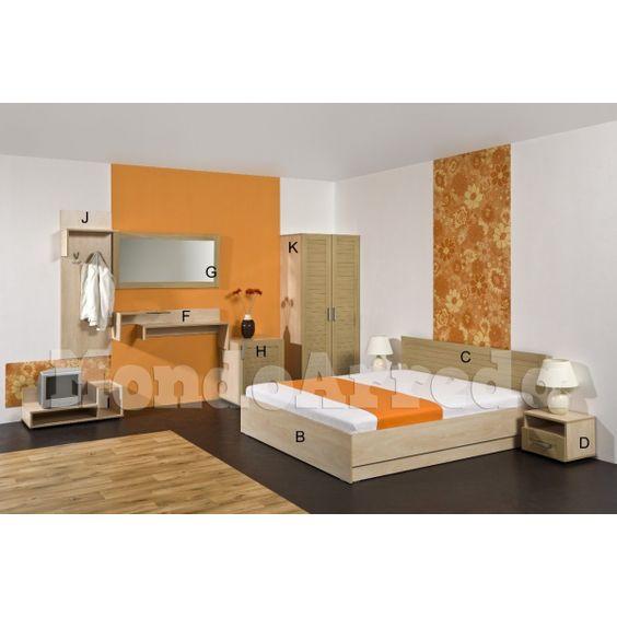 Camera da letto hotel matrimoniale modello ABACUS. Elegante, robusta ed accogliente, eccezionale rapporto qualita-prezzo, per alberghi, hotel, agriturismi, appartamenti vacanza, case vacanza, bungalow, motel, bed & breakfast, pensioni. 855,00 €