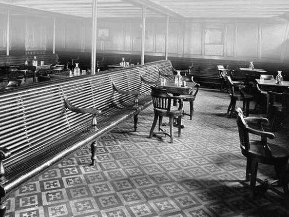 Titanic 3rd class General Room