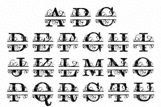Download 38+ Free Split Letter Monogram Svg Gif Free SVG files ...