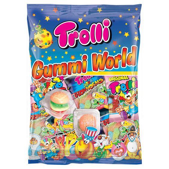 -in USA- Trolli Gummi World Candy Variety - 230g
