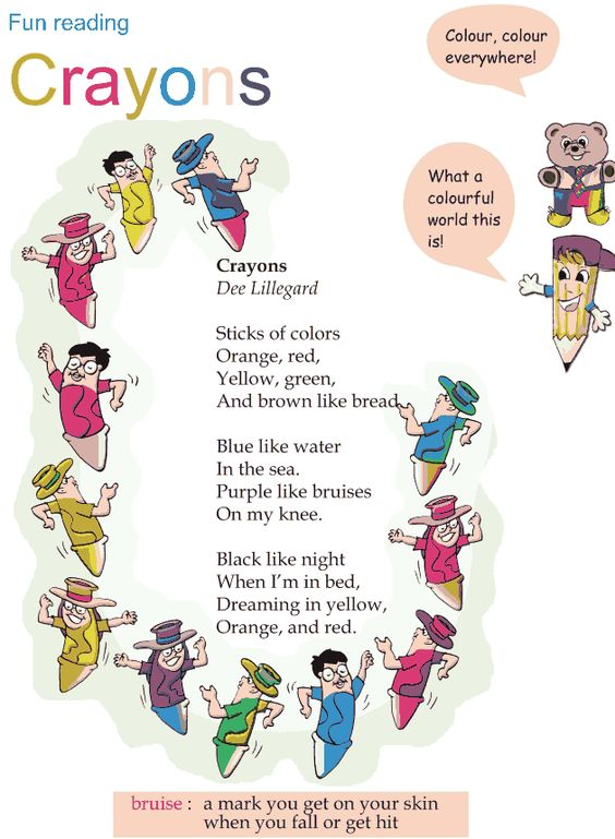 Worksheets Rhymes For Grade 1 grade 1 crayons and reading on pinterest math poems fun crayons